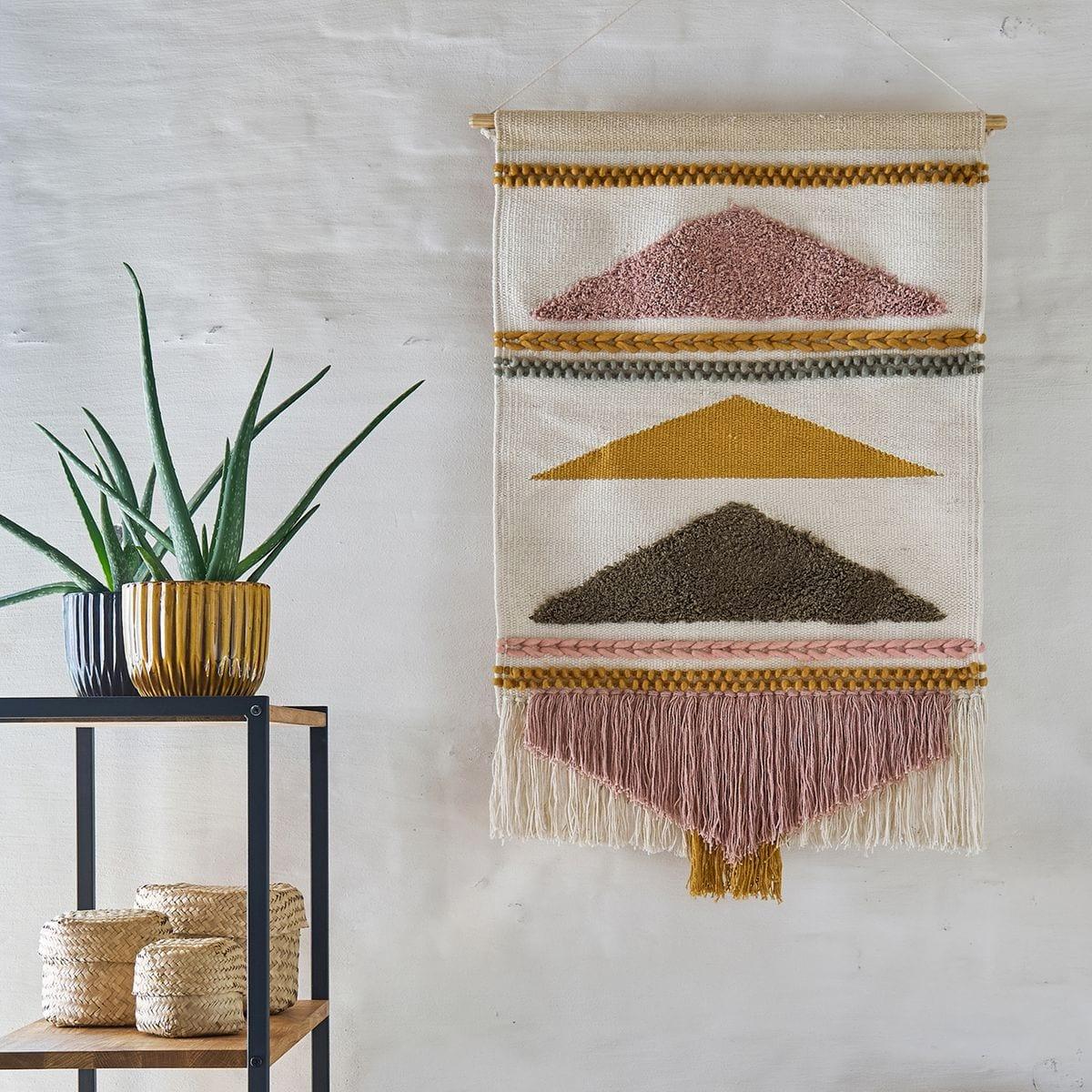 tapis mural ethnique