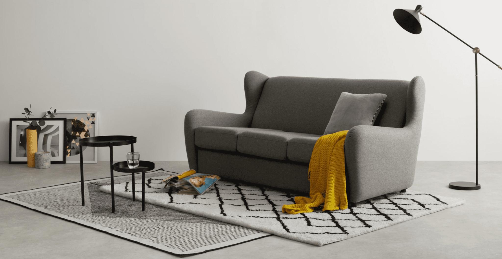 canapé polyester