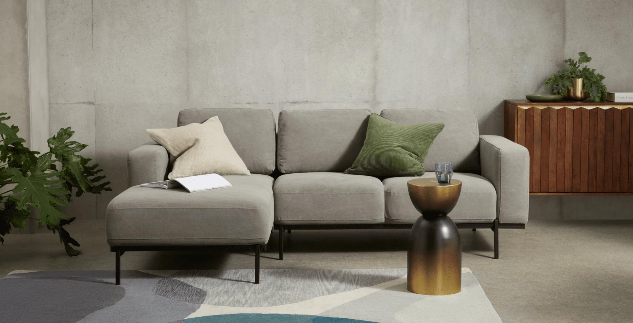 canapé en coton