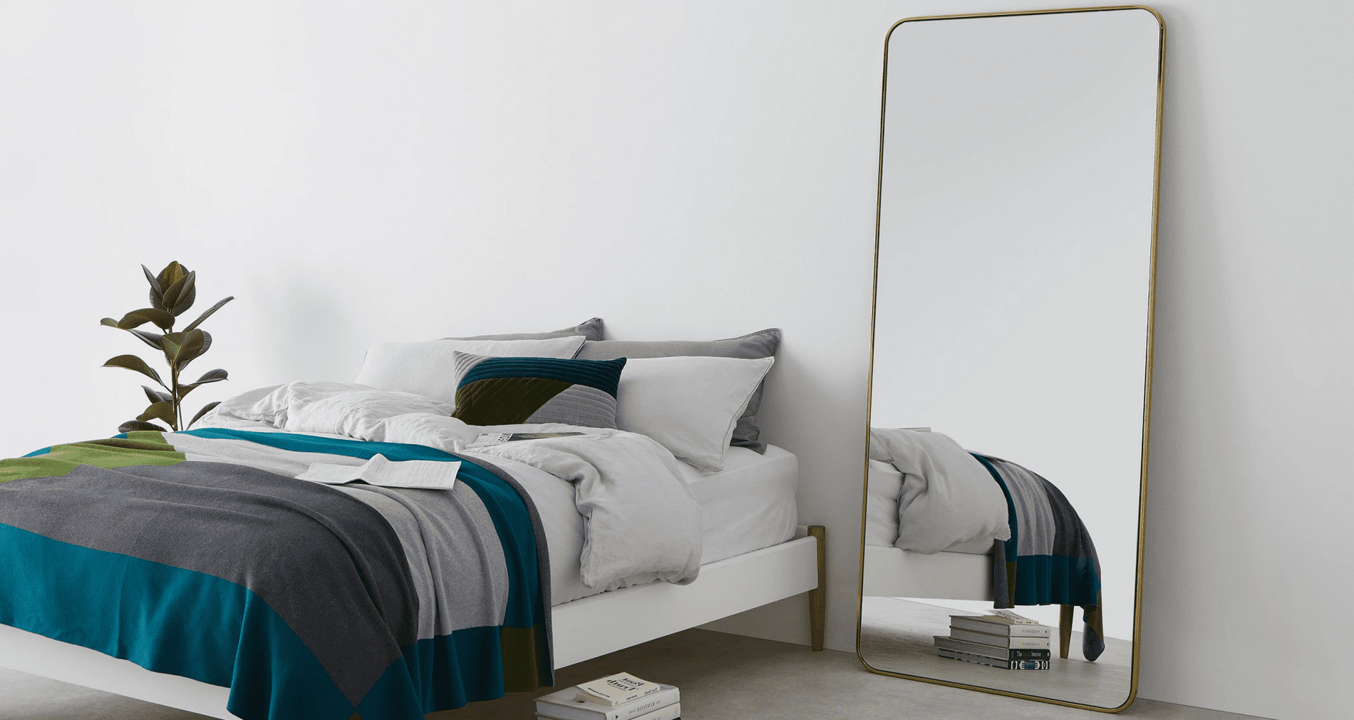 grand miroir chambre