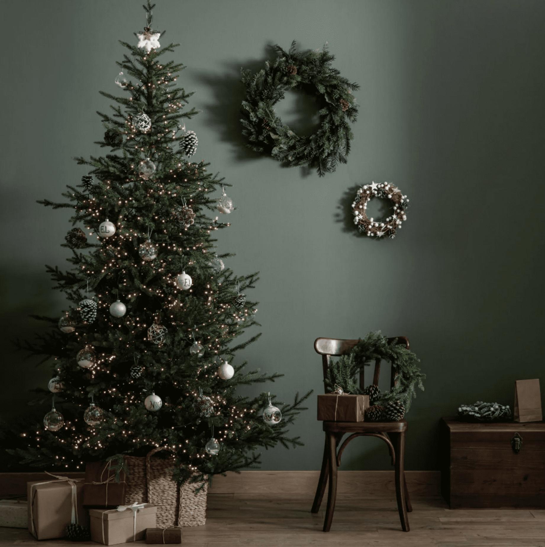 sapin de noel décoration